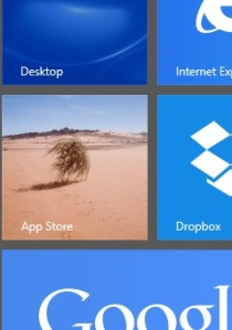 Proposed new icon for the Windows 8 App Store