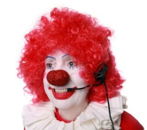 Clown Customer Service